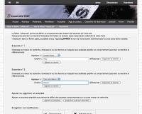 Capture d'écran : Création du fichier robots.txt